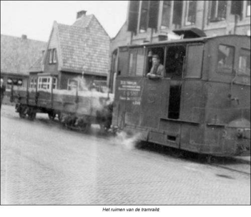 Ruimen-tramrails